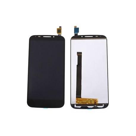 lcd ecran vitre tactile complet pour alcatel one touch pop s7 noir micro smartphone. Black Bedroom Furniture Sets. Home Design Ideas