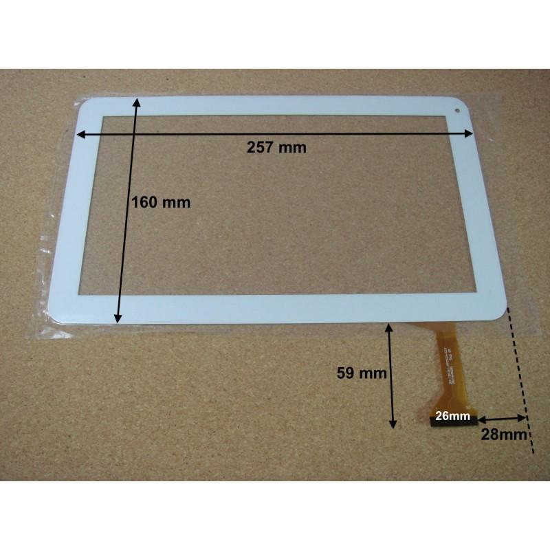 vitre tactile 10 polaroid midc110 version 50pin 16546. Black Bedroom Furniture Sets. Home Design Ideas