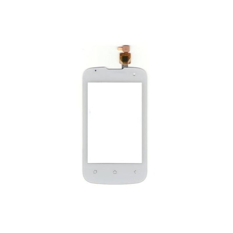 vitre tactile pour wiko cink plus cink blanc micro smartphone. Black Bedroom Furniture Sets. Home Design Ideas