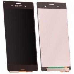 ECRAN LCD + VITRE TACTILE pour SONY XPERIA Z3 NOIR