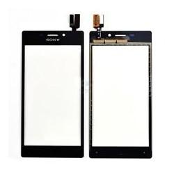Ecran vitre tactile noire pour Sony Xperia M2 D2303 D2305 D2306 S50h