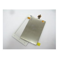 White LCD Display +Touch Ecran For Sony Xperia E