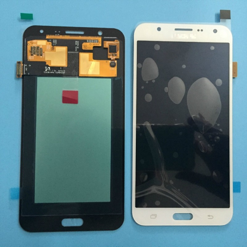 Ecran lcd pour samsung galaxy j7 2016 blanc micro for Photo ecran samsung j7